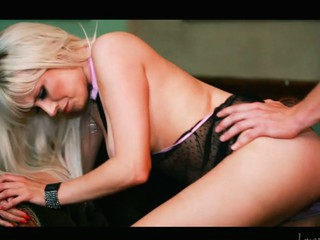 Slutty golden-haired Syren Ayatollah sucks with an increment of copulates a large knob