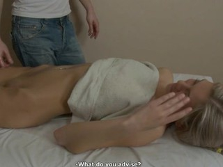 Hunk is raising hottie's needs with toy plowing and massage