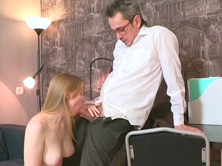 Fetching darling is delighting old motor coach close to oral engulfing
