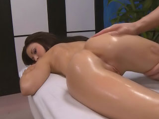 Pulchritudinous cute youngster dearth hard making love after hot rub down